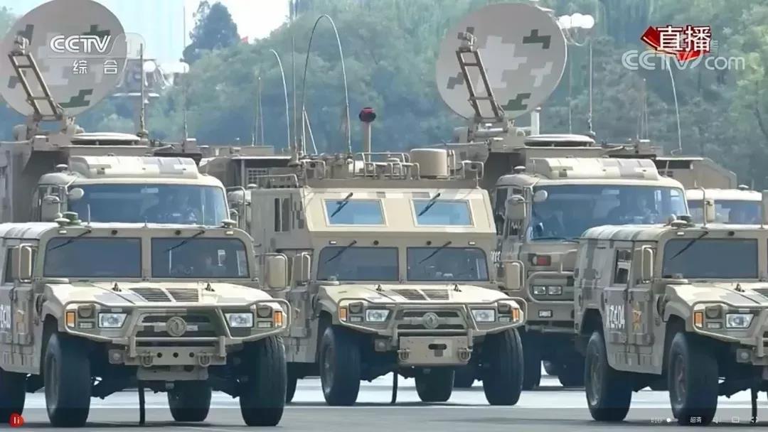 移动测量系统亮相70周年国庆阅兵式